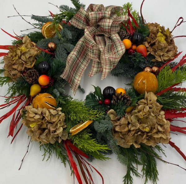 buy online christmas wreaths from forever flowers drogheda