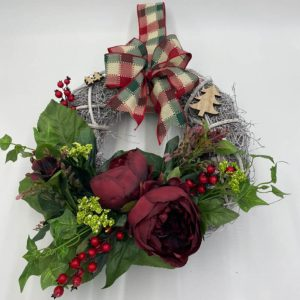 christmas wreaths from forever flowers drogheda