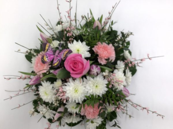 Pink Floral Posy